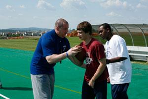Football Camp Training Lauren