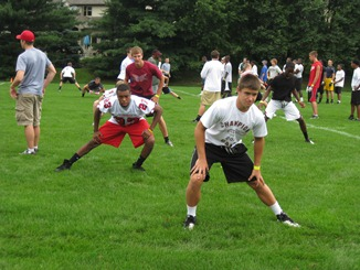 lfg football camp ohio LFG FOOTBALL CAMP AT OTTERBEIN RAISES MORE THAN $13,000 FOR PEDIATRIC BRAIN TUMOR RESEARCH